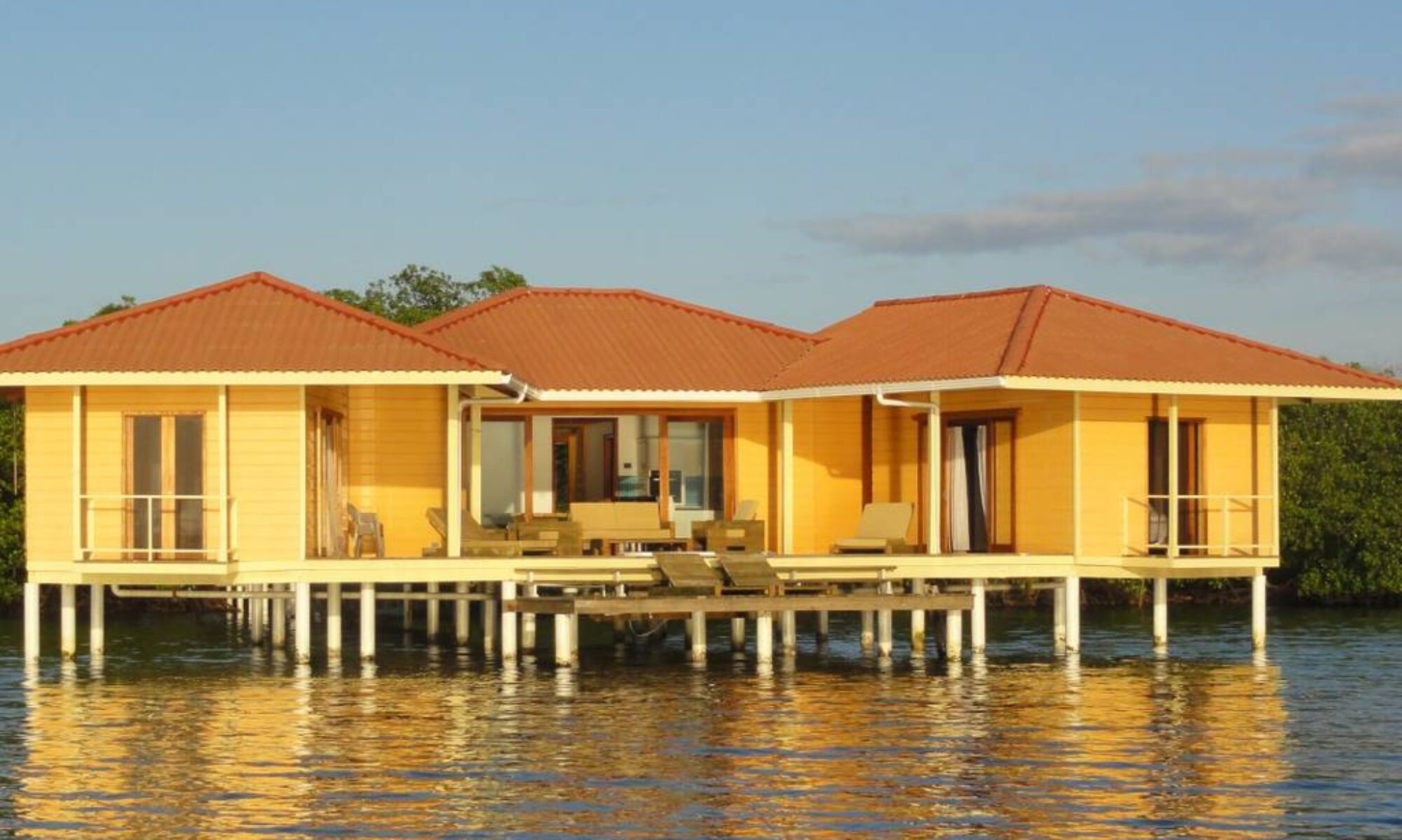 Caribbean water bungalow for sale